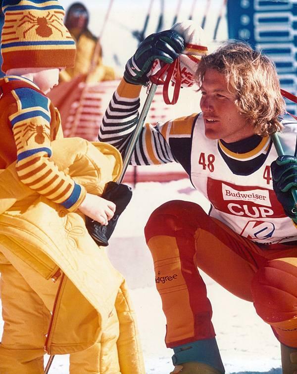 Spider Sabich ski race legend
