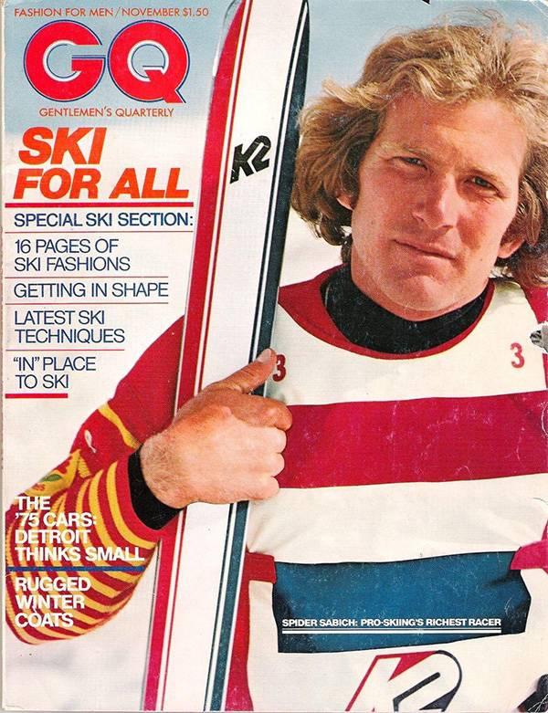 Spider Sabich ski racer